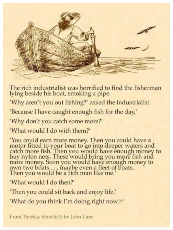 rich man and the fisherman